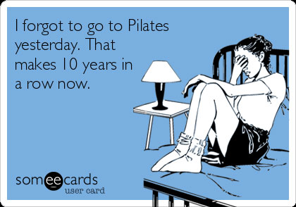 forgot pilates